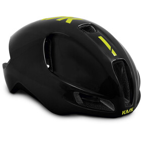 Kask Utopia Helmet black/fluo yellow